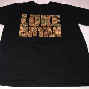 Browning Luke Bryan T-Shirt Size Men's Medium ♥️😘